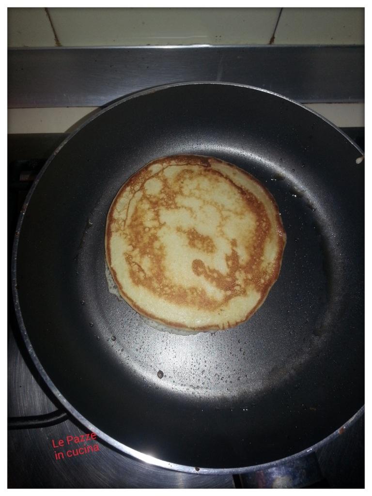 Pancakes in cottura