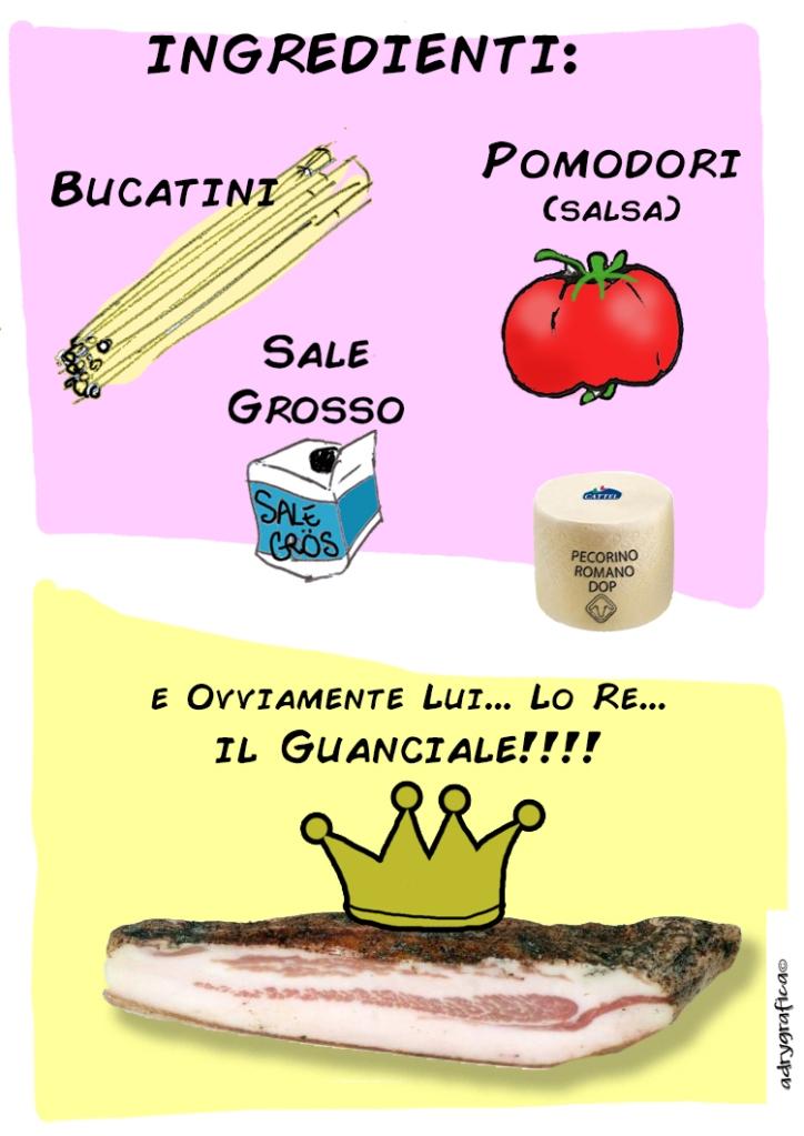 Fumettoricettario Amatriciana_01